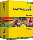 Rosetta Stone Homeschool Italian Level 1-5 Set including Audio Companion