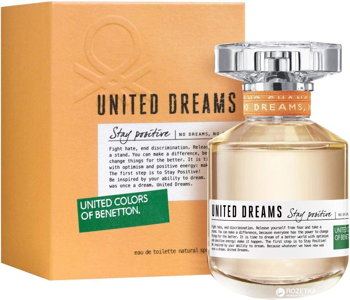 United Colors of Benetton Stay Positive Eau de Toilette, 30 ml