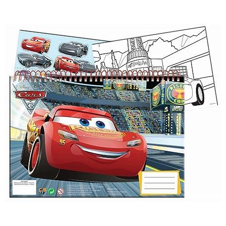 Guizmax Specifiche Di Disegno Libro Da Colorare A4 Adesivi Cars