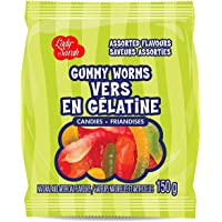 Lady Sarah Gummy Worms Assorted Flavours 120G Per Candies Bag