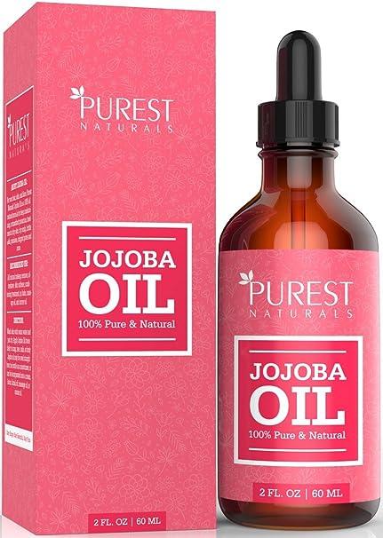 Aceite de jojoba orgánicoPurest Naturals, el mejor aceite para cara,