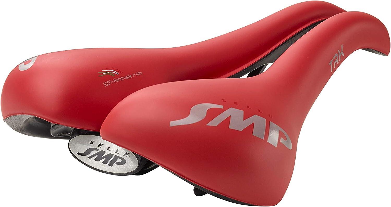 ZSTT03LARGE-RED Matt Red Selle SMP TRK Saddle Large Long 272 mm Wide 177 mm