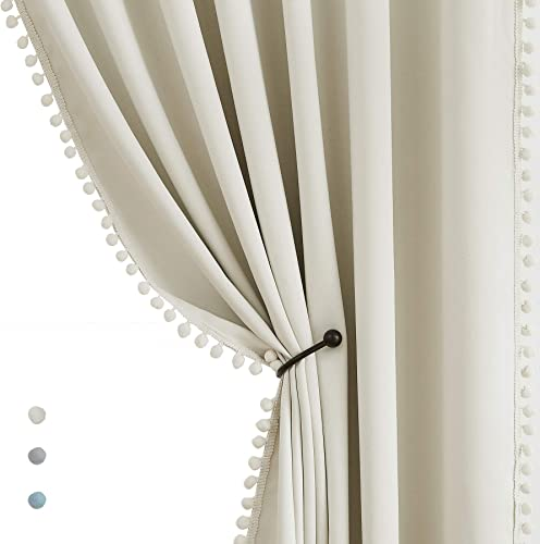 Pompom Window Curtains