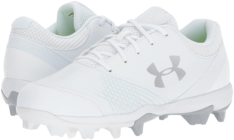 Under Armour Women's Glyde RM Baseball Shoe B06XCK78WB 7 M US|White (100)/White