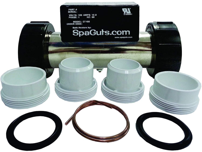 Spaguts Wiring Diagram Library Amazoncom Universal Inline Bath Heater Kit 20kw 220v 70