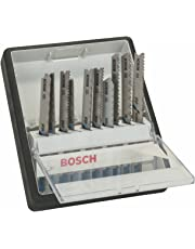 Bosch 2 607 010 541 - Juego de 10 hojas de sierra de calar Robust Line Metal Expert, vástago en T - - (pack de 1; 1; 1; 1; 1; 1; 1; 1; 1; 1)