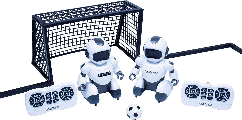 Juguetrónica JUG0324 Soccerbot Arena, Blanco: Amazon.es: Juguetes ...
