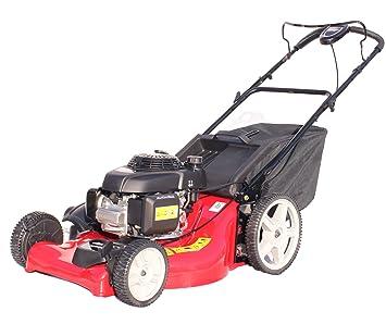 Cortacésped de gasolina Honda GCV160 con cesta, 53 cm, función mantillo, transmisión variable, color rojo: Amazon.es: Bricolaje y herramientas