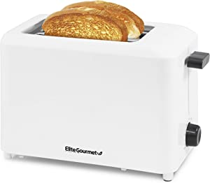 Elite Gourmet ECT-1027 Cool Touch Toaster with 7 Temperature Settings & Extra Wide 1.5