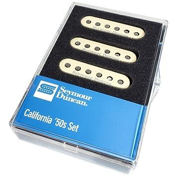 Seymour Duncan California 50s SSL-1 calibrado Juego de pastilla para guitarras Stratocaster, color crema cubre: Amazon.es: Instrumentos musicales
