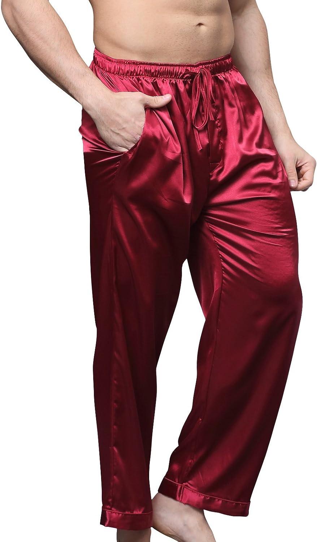 Sanraflic Men/'s Pyjama Bottoms Lounge Pants Gentlemen/'s Sleepwear//Nightwear