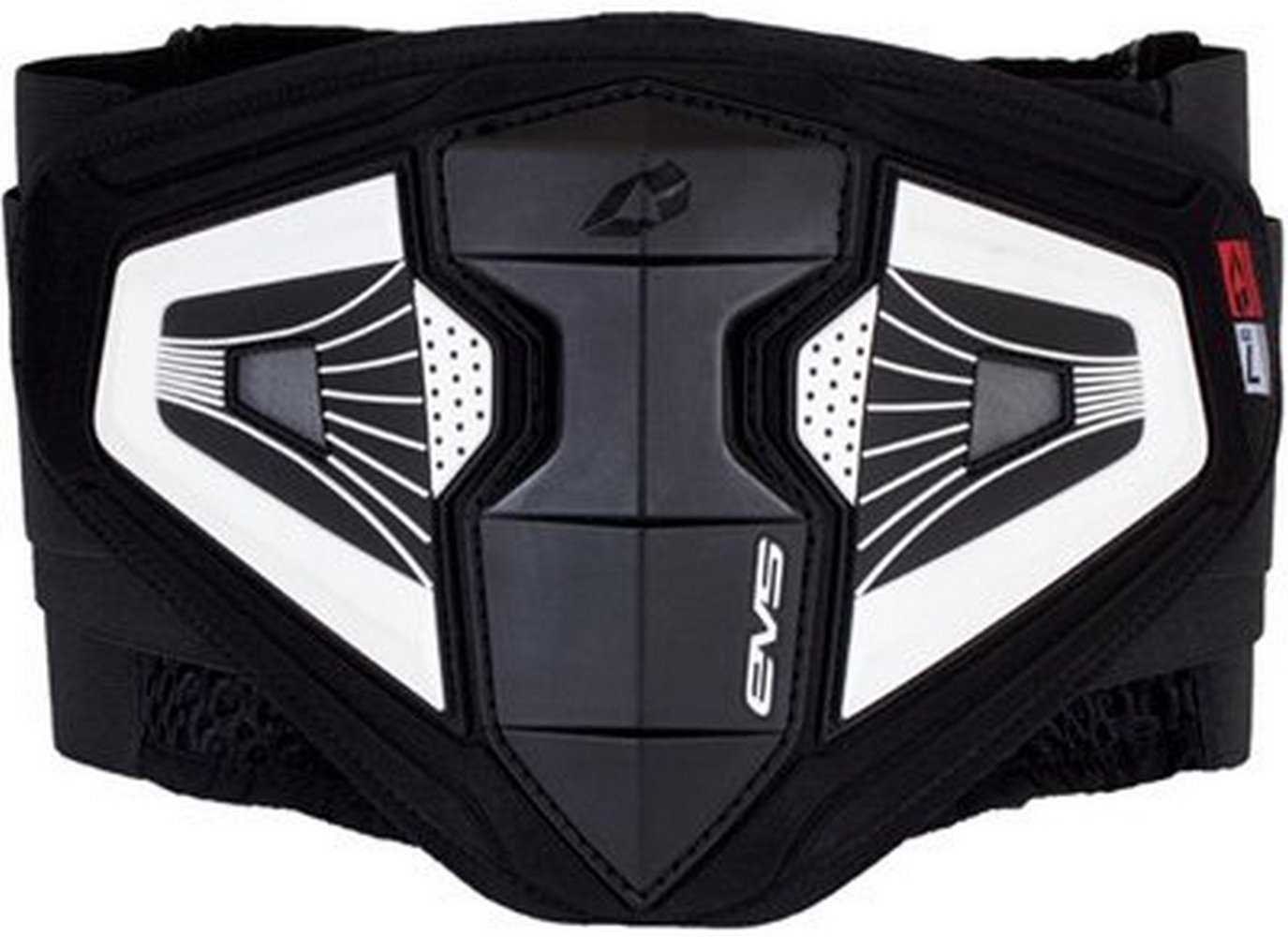 EVS BB04 Impact Kidney Belt-Black-XL