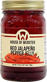 product image for House of Webster Red Jalapeno Pepper Jelly 17.5 oz
