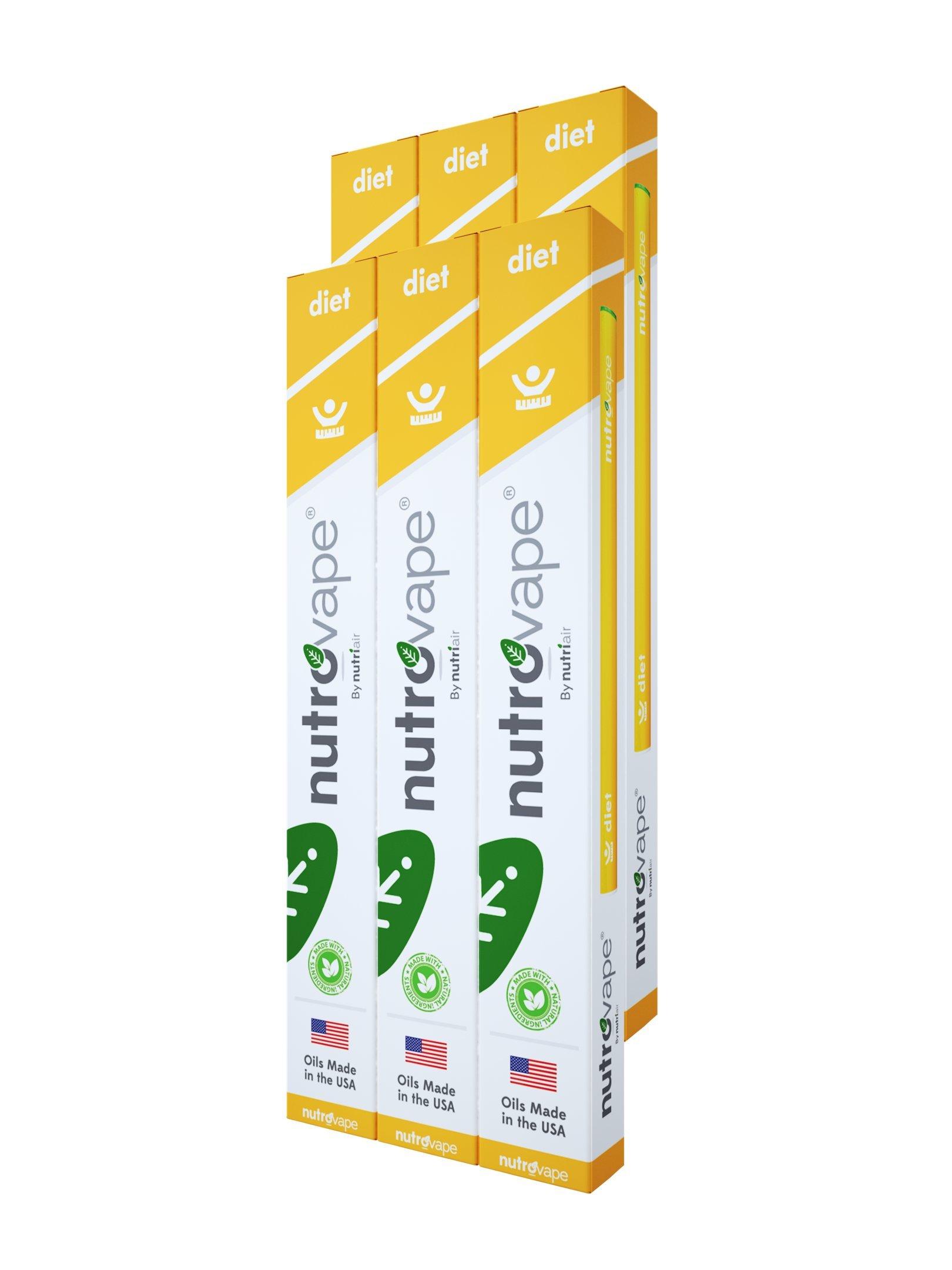 Nutrovape | World's 1st Diet Inhaler | Hunger Suppressant, Promotes Healthy Weight Loss | Diet Pill Alternative | All Natural Hoodia Gordonni, Garcinia Gambogia, Green Tea Extract (6)