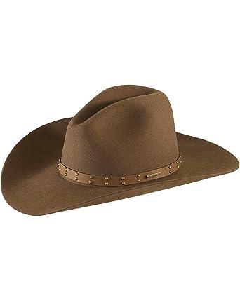 7e6f0ff7f53 Stetson Men s 4X Seminole Gus Buffalo Felt Cowboy Hat at Amazon ...