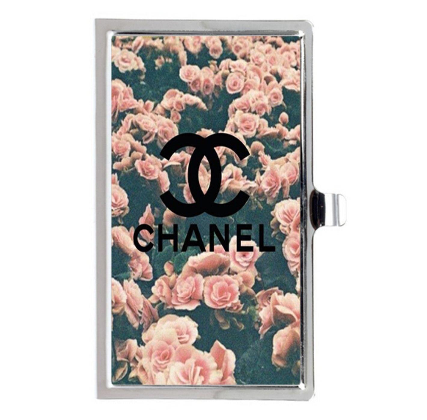 En Chanel Pinterest acero inoxidable nombre de tarjeta de ...