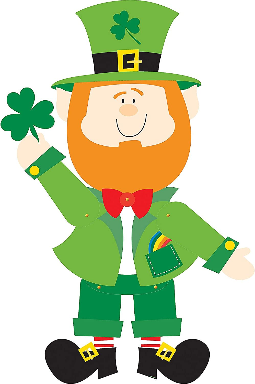 Amazon.com: Amscan 190230 St. Patrick's Day Leprechaun Jointed ...