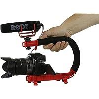 Cam Caddie Scorpion EX - Mango estabilizador para cámara de vídeo Nikon, Canon, JVC, Toshiba, Sony, Olympus, Pentax, Apple iPhone, GoPro Hero 4, Hero 3+, Hero 3 y más