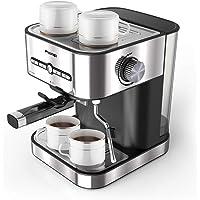 FIMEI Cafetière Expresso, Machines à Café Expresso 15 Bars, Machine à Expresso avec Mousseur à Lait pour Cappuccino et Latte, avec Fonction de Chauffage, 1500ml Amovible Réservoir D'eau (Expresso)