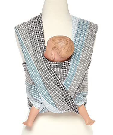 Amazon Com Woven Wrap Baby Carrier For Infants And Toddlers Moon
