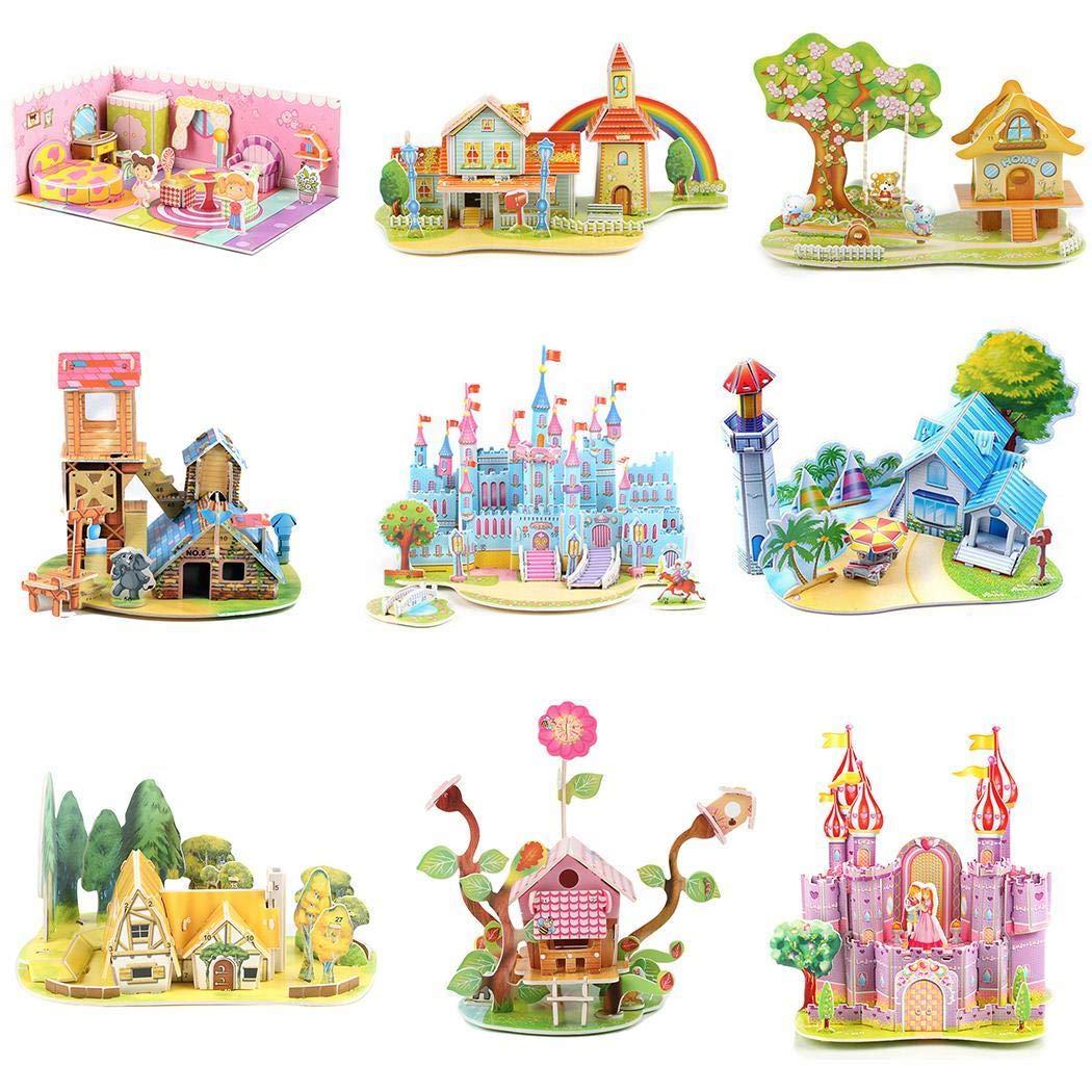 Kids 3d castle puzzle