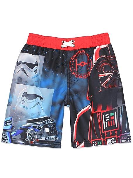 f303169483650 Amazon.com: LEGO Star Wars Boy's Swim Trunks Swimwear (Little Kid ...