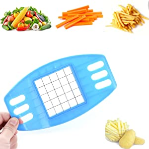Manual French Fry Cutter Slicer Food Processors,Potato shredding Machine to Cut Fries Set, French Fries shredding Set for Veggies, Onions, Carrots, Cucumbers and more
