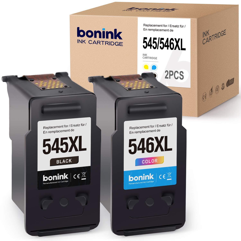 BONINK 2 Compatibles PG-545XL CL-546XL Cartuchos de Tinta para ...