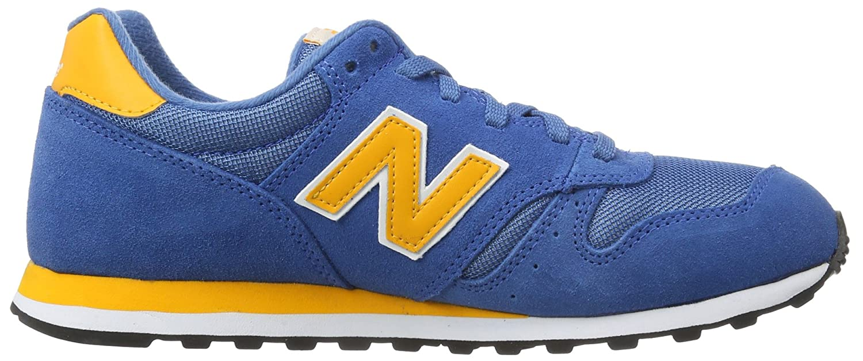 New Balance Herren M373 D Abl Sneaker Blau Gelb Herrenschuhe