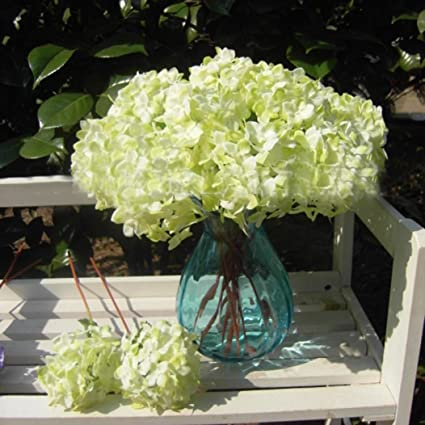 Amazon single silk flower bouquet for wedding garden decoration single silk flower bouquet for wedding garden decoration green mightylinksfo