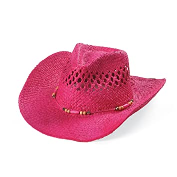 Child s Pink Cowgirl Hat - Birthday and Theme Party Supplies - From Fun365 dc963fcb727