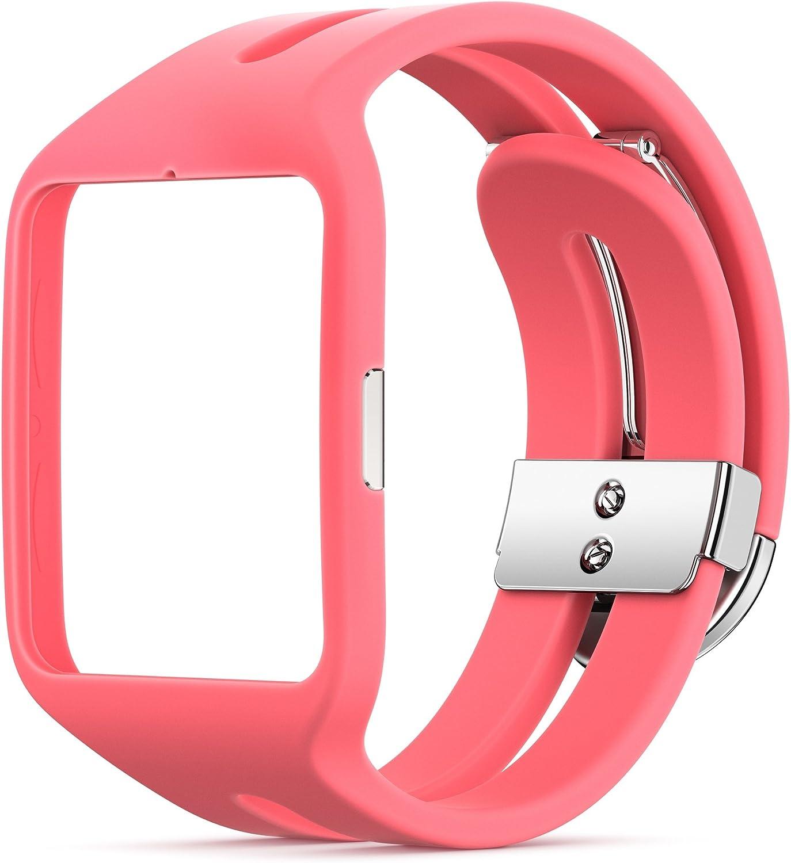 Sony SWR510 - Correa para SmartWatch 3 Sport, rosa: Sony: Amazon ...