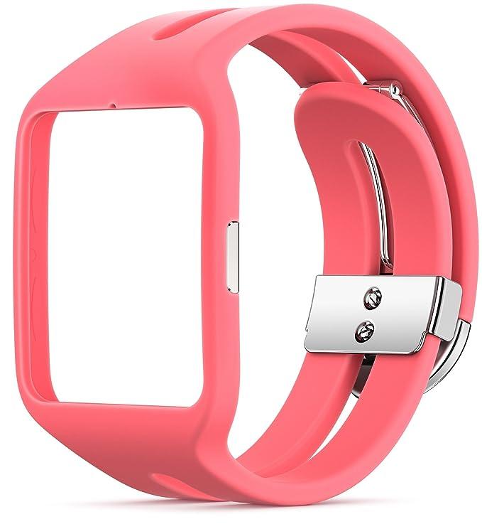 Sony SWR510 - Correa para SmartWatch 3 Sport, rosa