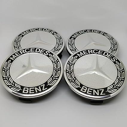 Buje tapas para Mercedes-Benz a1714000125 9040 Negro - Accesorios ...