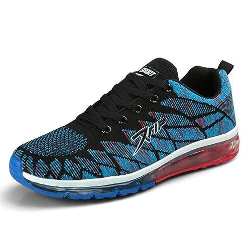 Huaihsu Zapatillas de Running Para Mujer Antideslizantes Air Tech Fitness Gym Zapatillas de Escalada Para Exteriores: Amazon.es: Zapatos y complementos