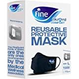 Fine Guard Comfort Adult Face Mask with virus-killing Livinguard Technology, – Size Large