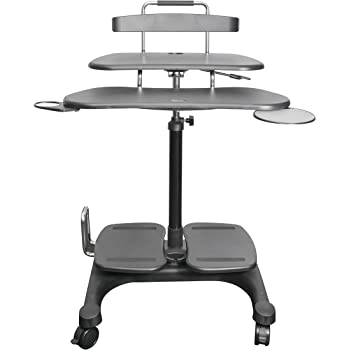 Amazon Com Kantek Desk Clamp Mounted Sit To Stand
