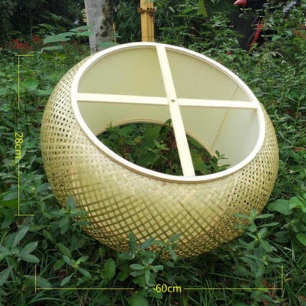 MIAO Lampadario Bamboo Lamp Lantern Bamboo Lamp Shade Vintage Bamboo Chandelier Handmade Cinese Bamboo Chandelier Bamboo Lamp