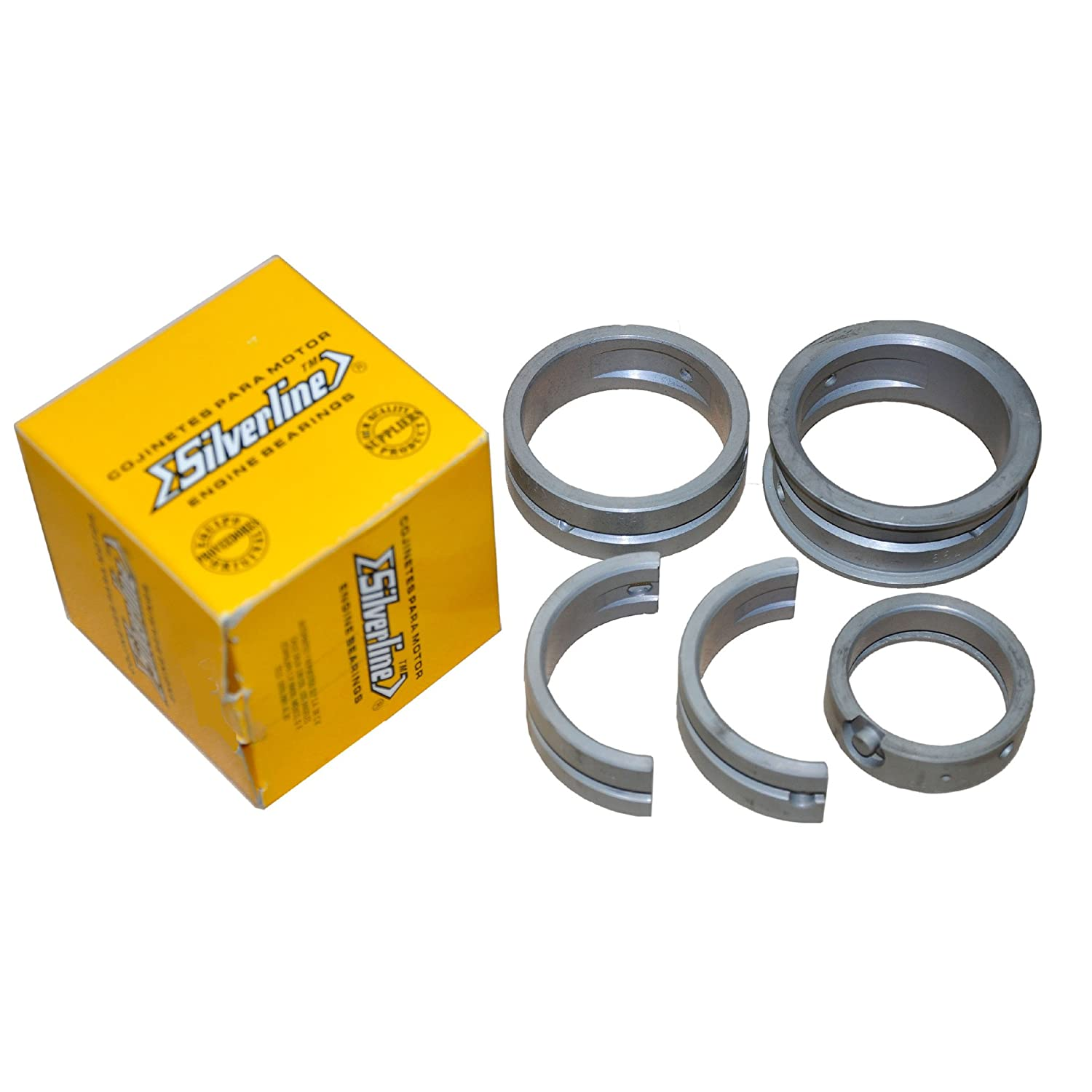 AA Performance Products Silver Line Main Bearings for Type 1 2 /& 3Steel Backed Size .040 Case//STD Crank