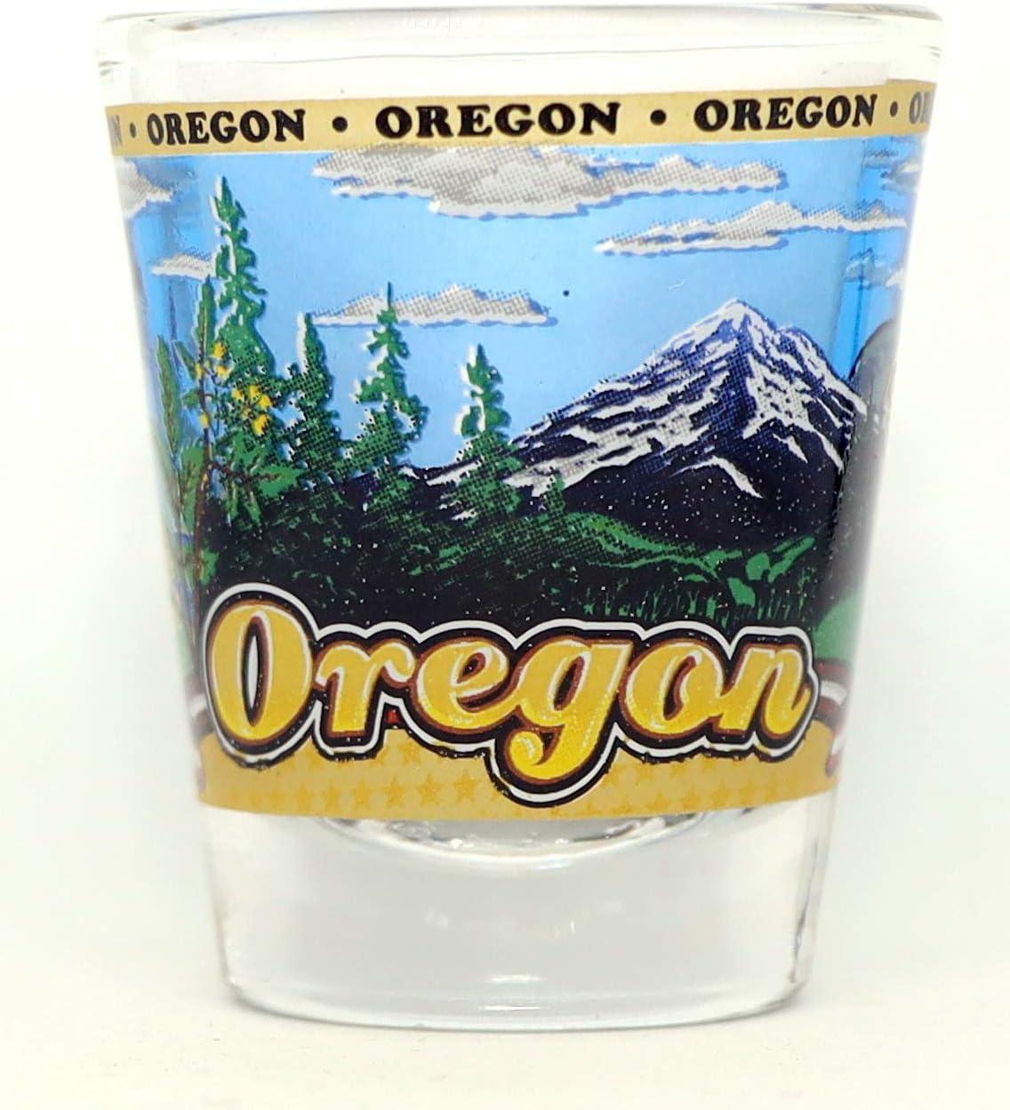 Oregon State Wraparound Shot Glass