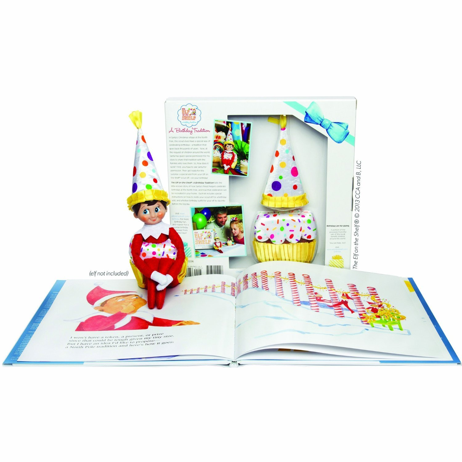 Amazon.com: Elf on the Shelf A Birthday Tradition: Toys & Games