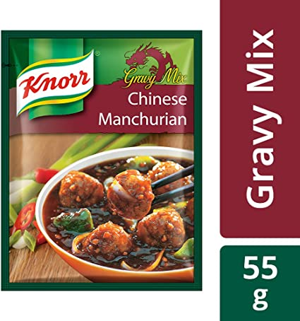 Knorr Chinese Manchurian Gravy Mix, Serves 4, 55g