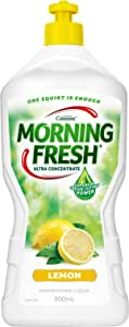 Morning Fresh Lemon Dishwashing Liquid, Lemon 900 milliliters