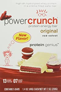Bionutritional Research Group Power Crunch, Red Velvet, 5 Count