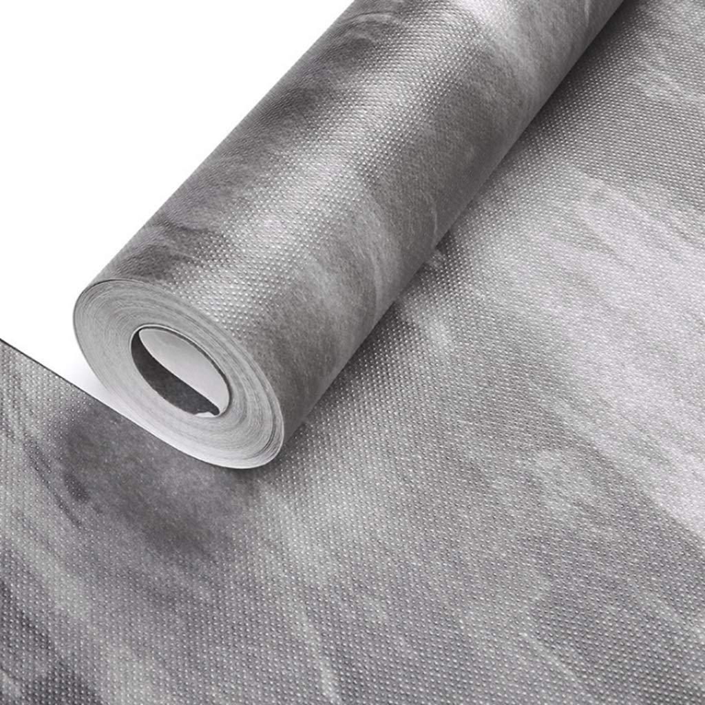 AMHD Papier Peint Tissu Non Tiss/é Vintage Style Industriel Mur de Ciment Papier Peint D/écoration Murale pour Bars//Caf/és//Restaurants 53CM*1000CM Couleur : Gray