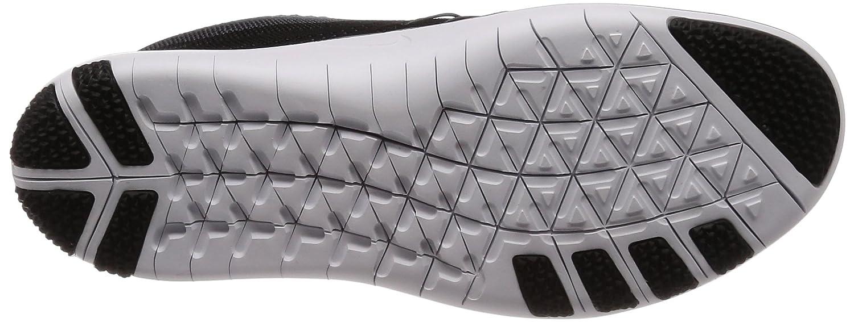 NIKE Womens Free Focus Flyknit Mesh Breathable Trainers B01HJ26KBO 6 B(M) US Black/White-cool Grey