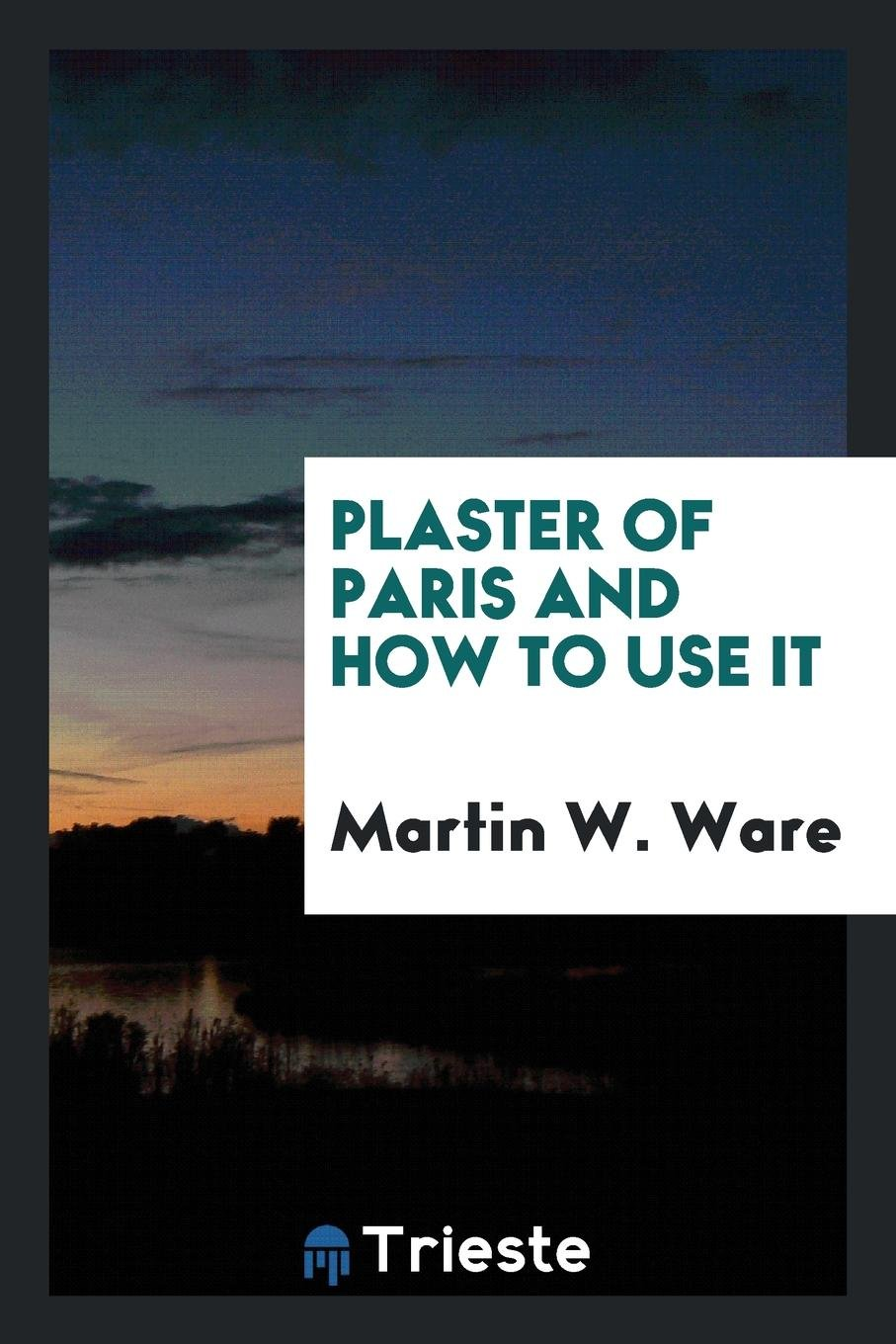 Plaster of Paris and how to use it: Martin W  Ware