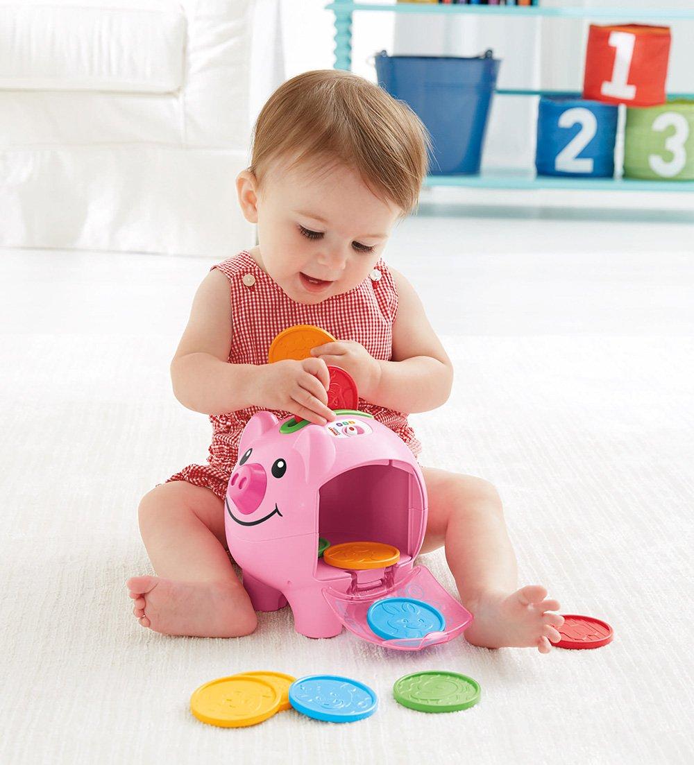 Fisher-Price - Cerdito, Hucha Interactivo (Mattel CDH17): Amazon.es: Juguetes y juegos