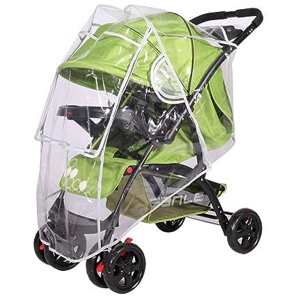 Universal Clear Pushchair Pram Stroller Buggy Rain Cover Raincover FAST