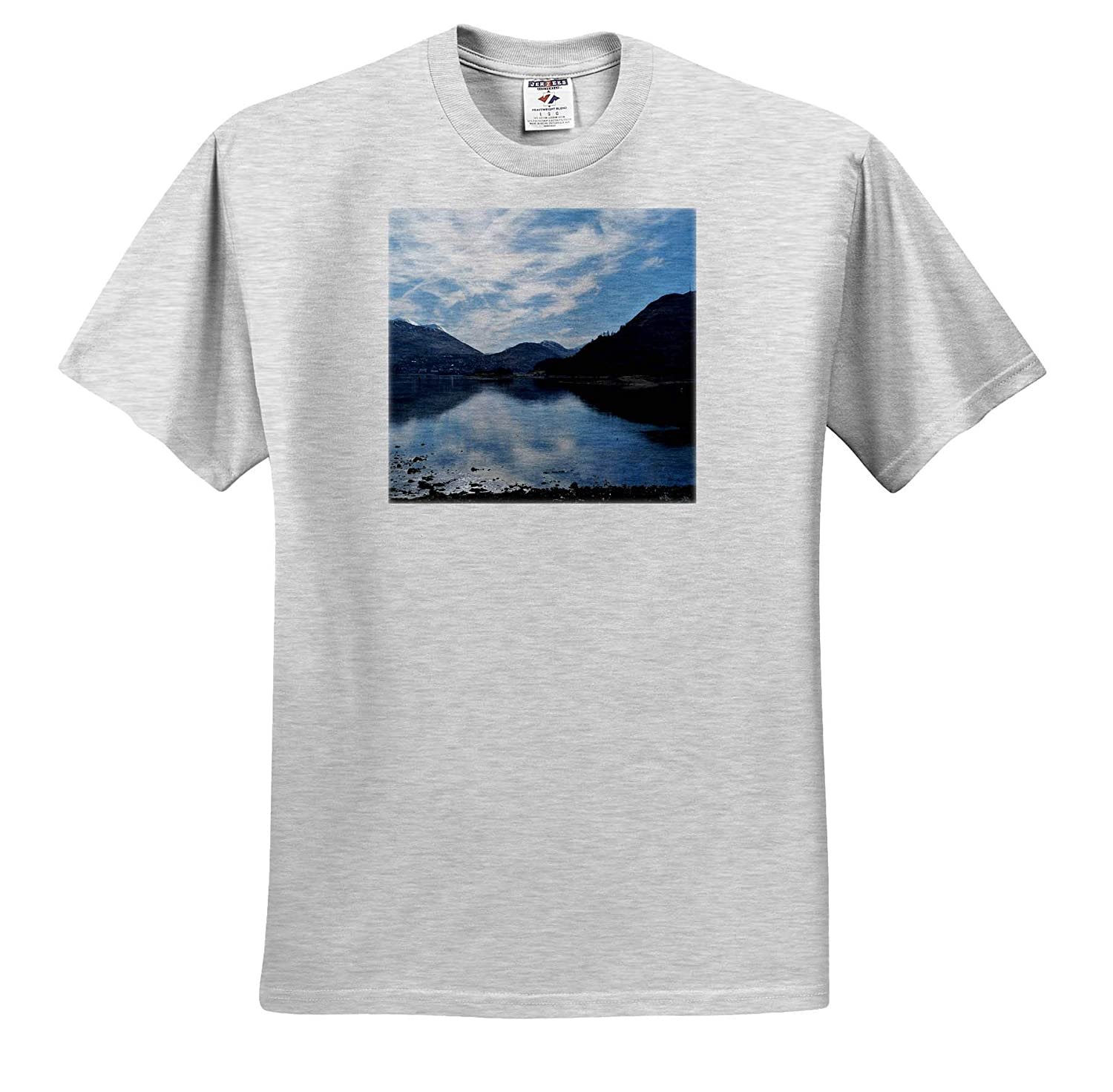 Loch Lhinnie Loch View at Caol Photograph 3dRose Made in The Highlands T-Shirts Highlands of Scotland